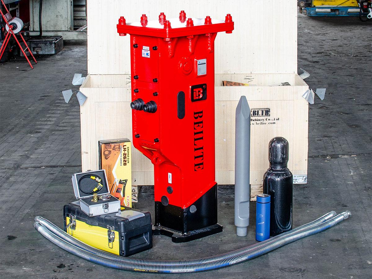 Martillos hidraulicos para retroexcavadoras
